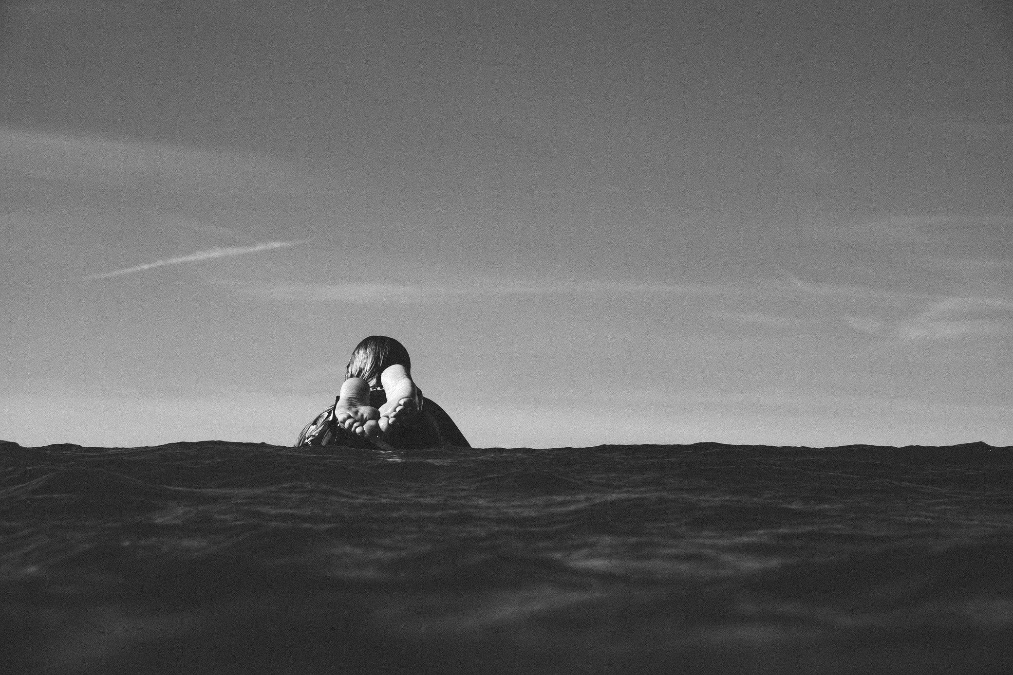 Floating in between