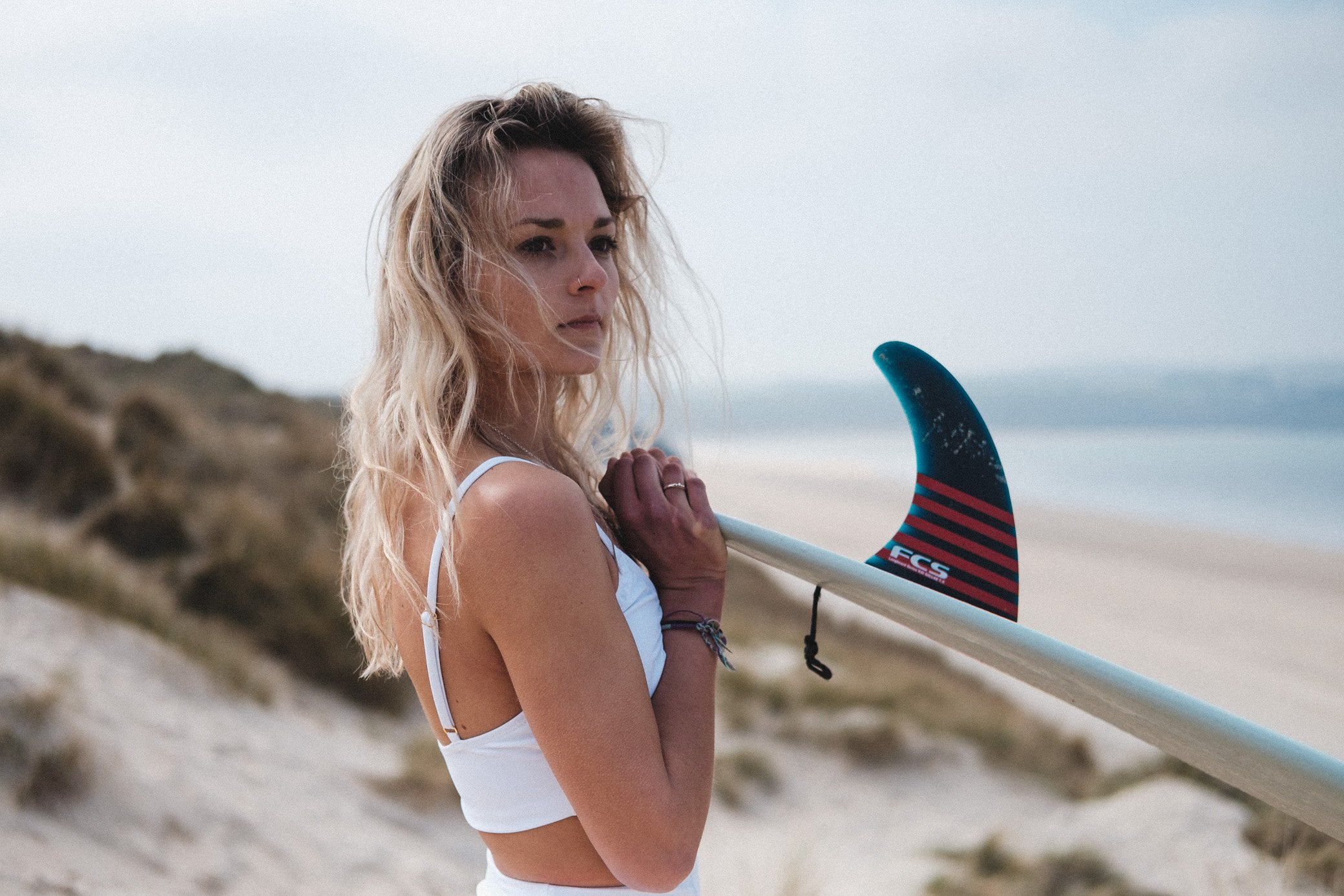 Jess Beach Surfer Portrait