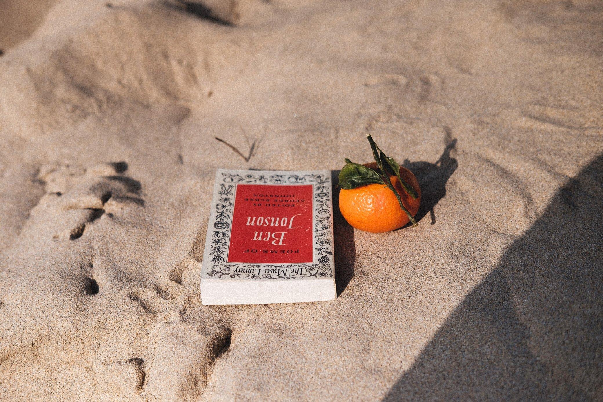 Book and Orange